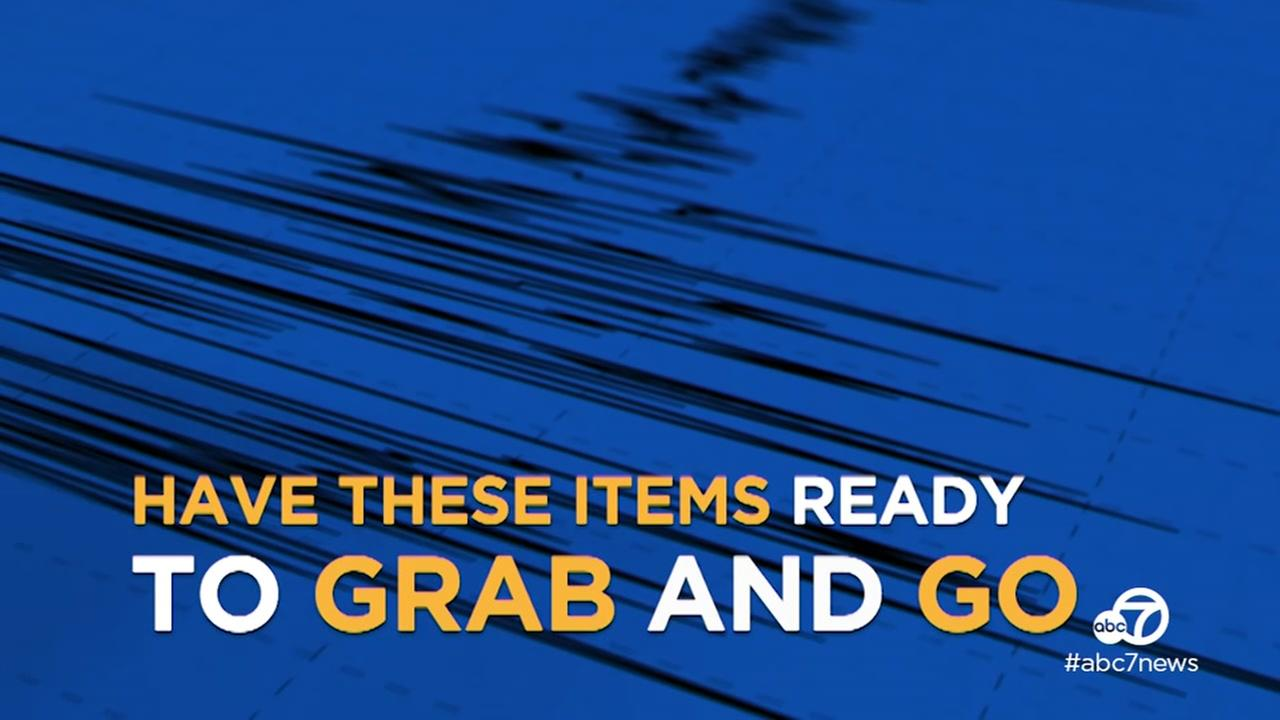 VIDEO: What to pack in your earthquake emergency kit