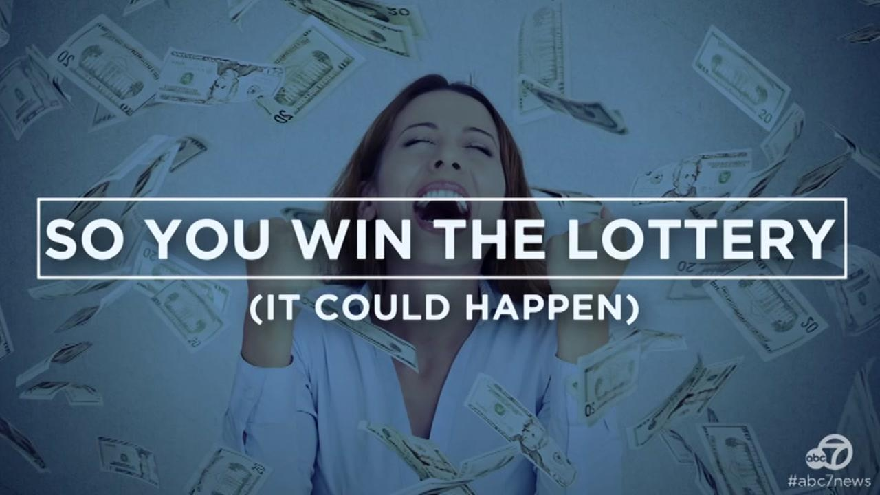 VIDEO: What to do if you win the lottery