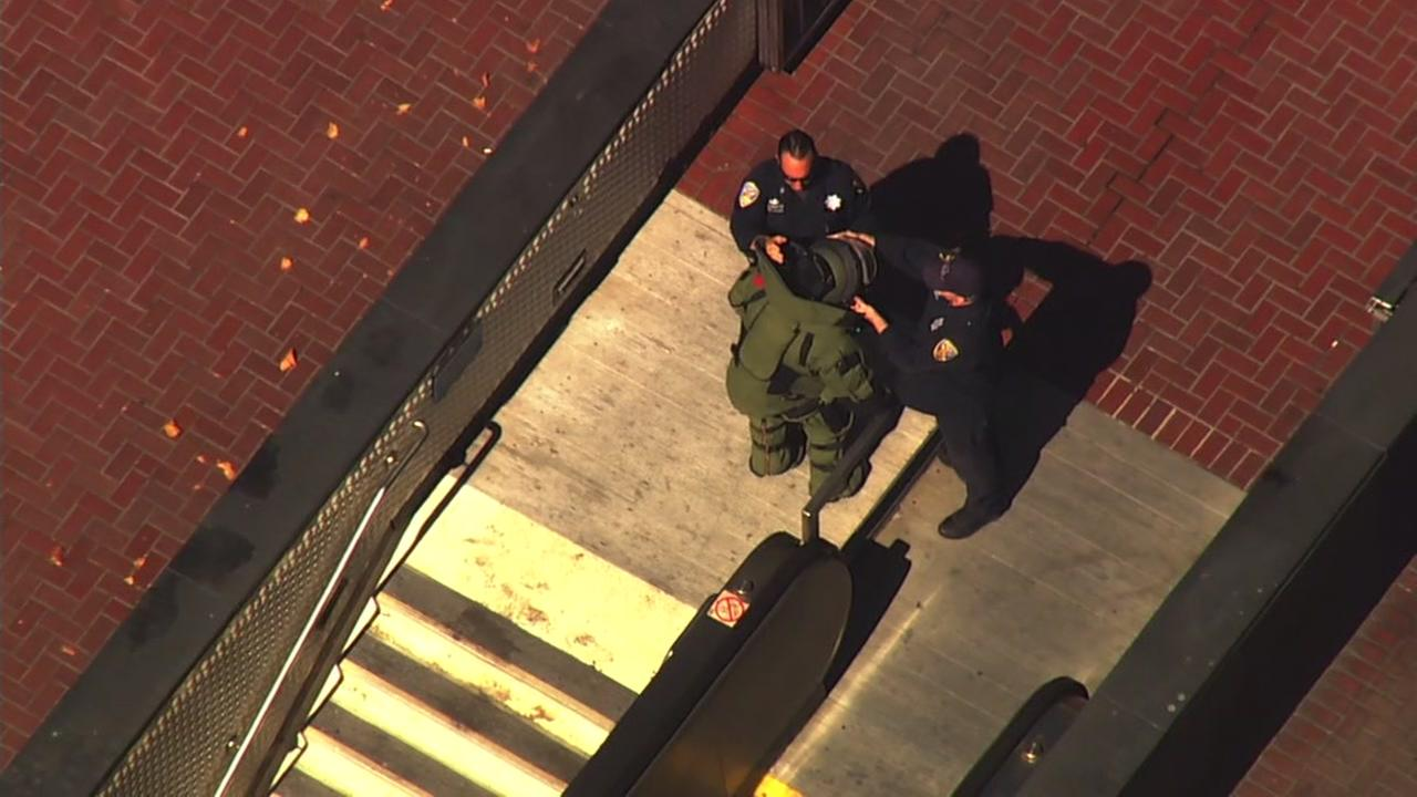 Suspicious package found in downtown San Francisco near Market, according to SFPD