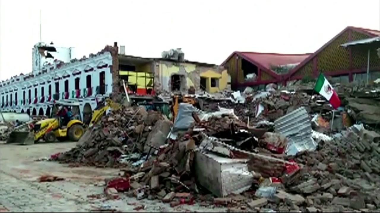 At least 35 killed in one of biggest earthquakes ever in Mexico