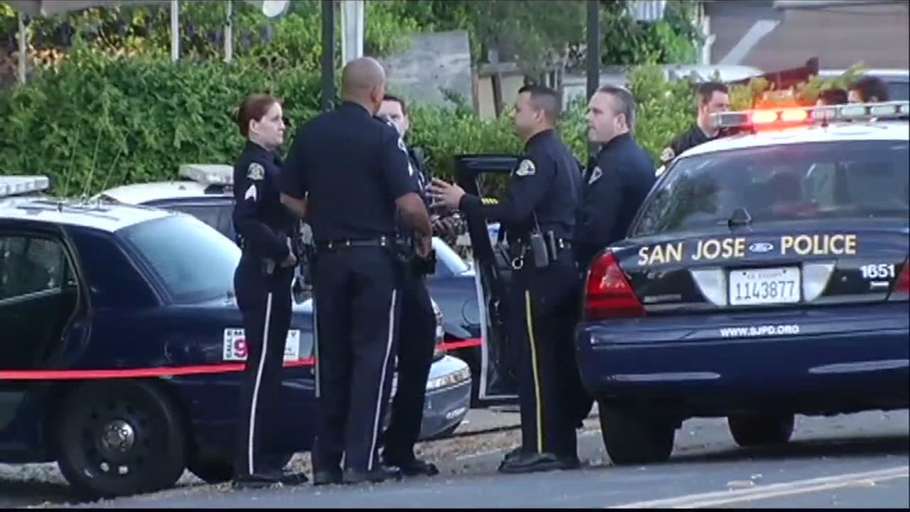 San Jose police are seen in this undated image.