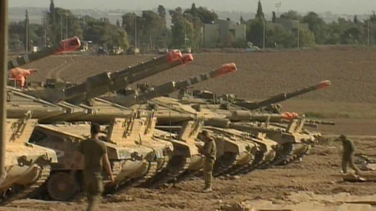 Indirect Israel-Palestinian negotiations are underway in Cairo over extending a cease-fire in the Gaza Strip and ending a blockade of the territory.