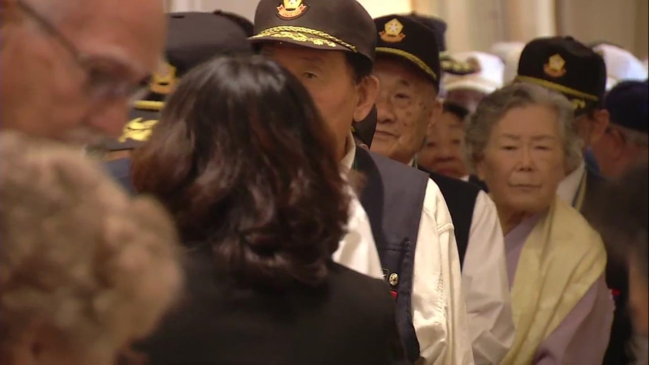 400 Korean War veterans honored at National Day of Korea event in San Francisco
