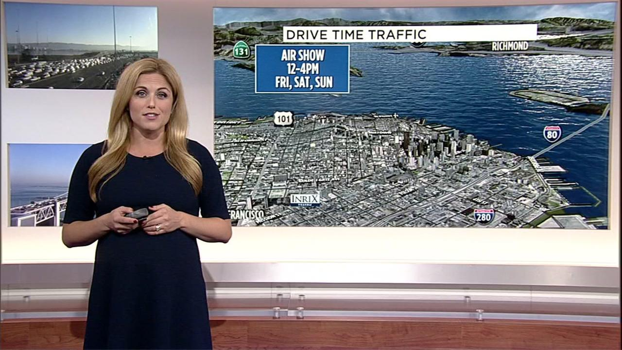Alexis Smith has your Feet Week traffic impact