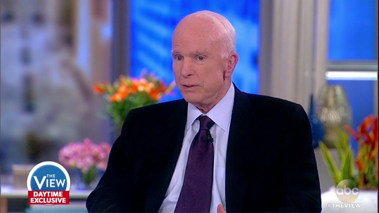 Senator McCain talks health, politics and more on The View