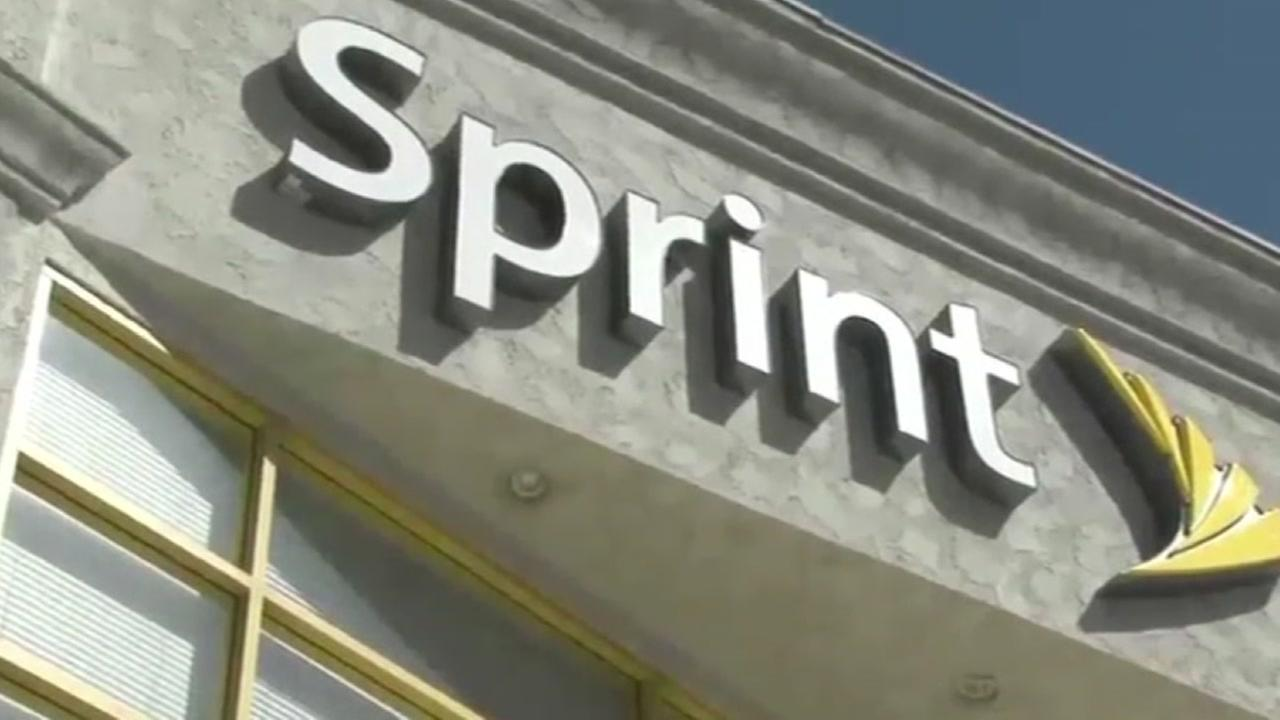 A Sprint store is seen in this undated image.