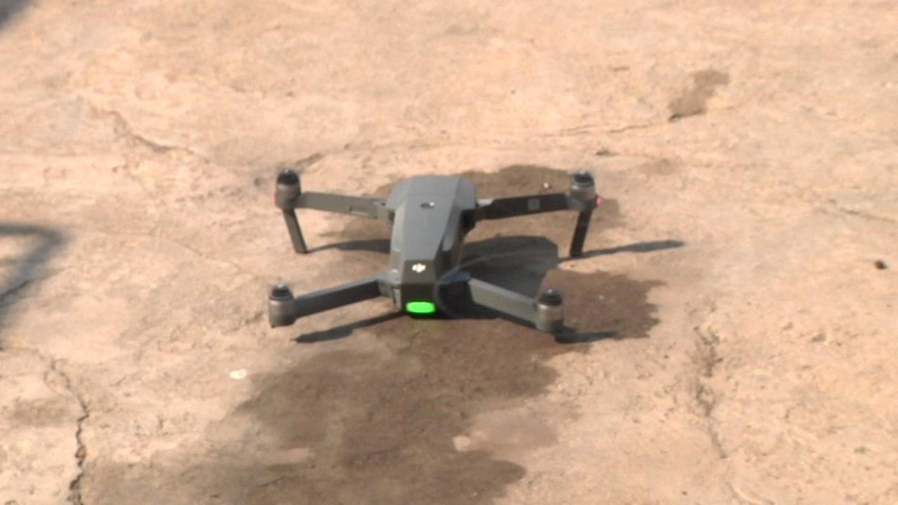 This is an undated image of a drone.