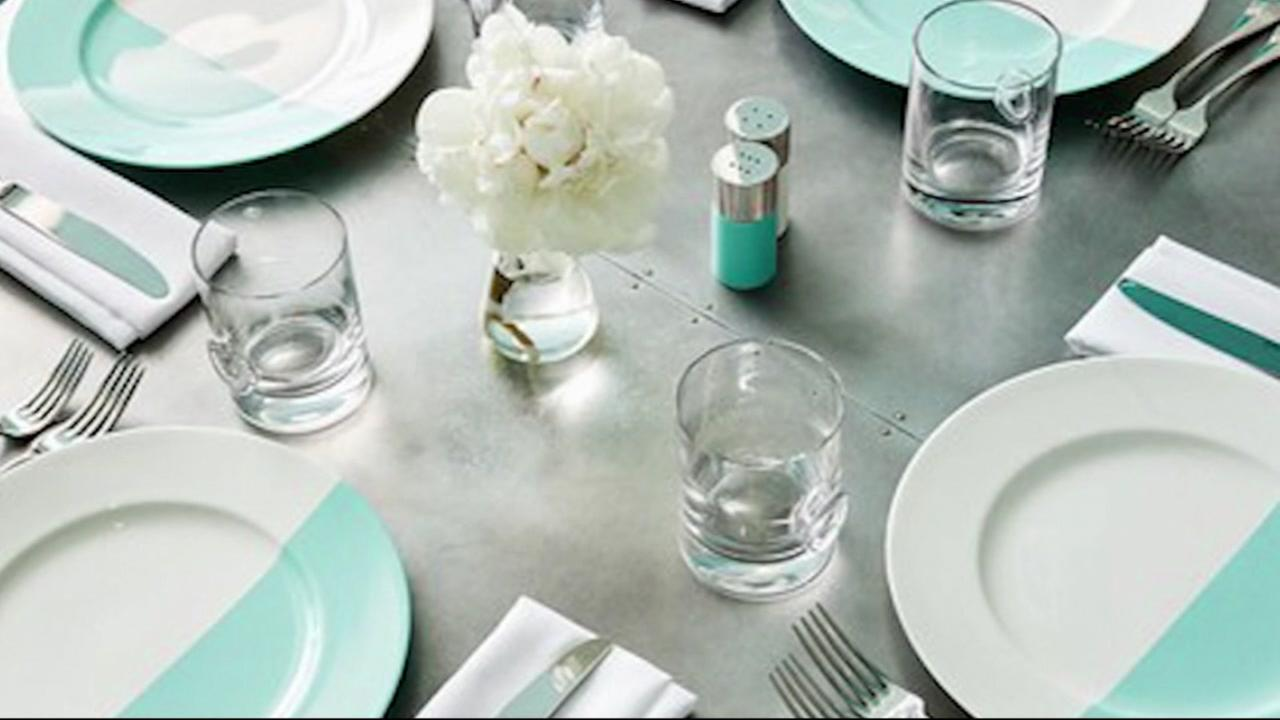 This is an undated image of silverware from Tiffanys.