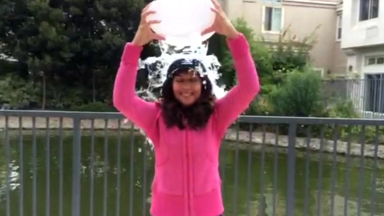 Sandhya Patel takes Ice Bucket Challenge