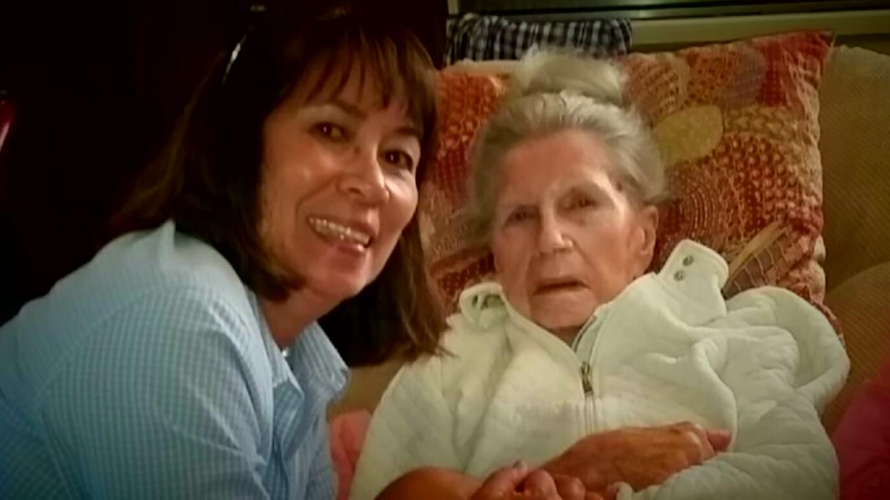 Two women who  survived the fires in the North Bay are seen in this undated image.