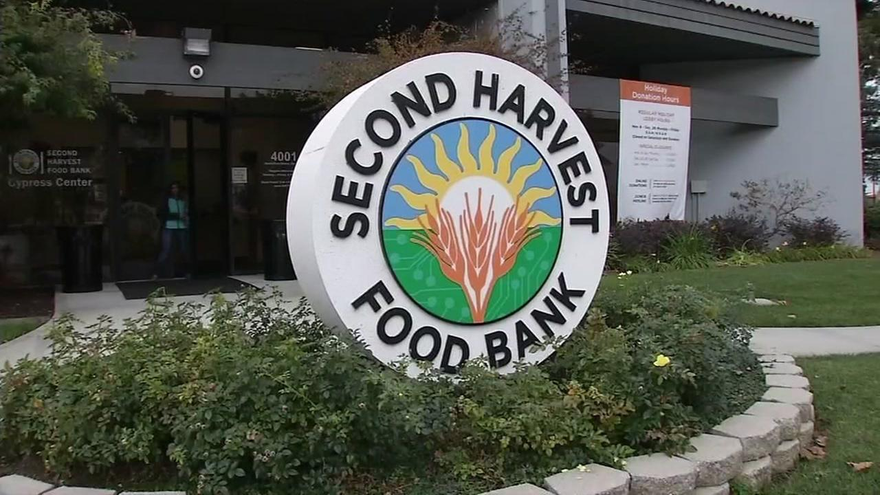 The Second Harvest Food Bank is seen in San Jose, Calif. in this undated image.