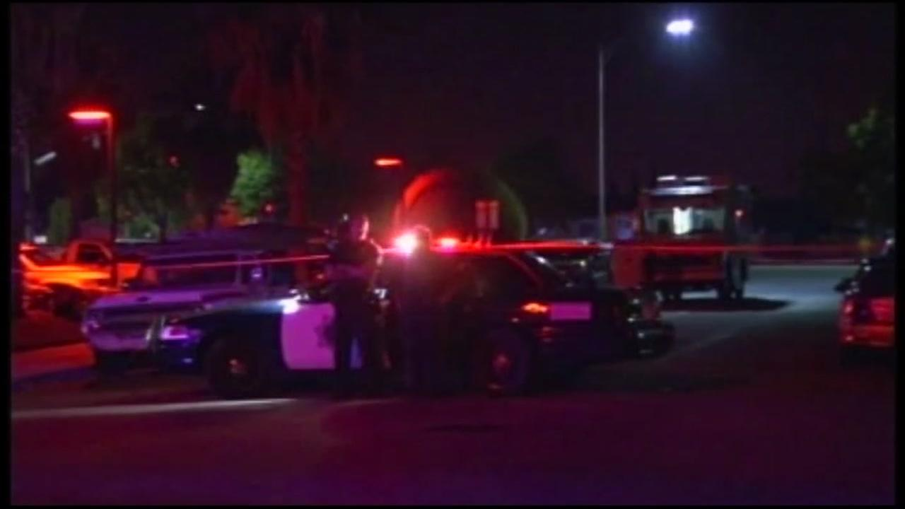 San Jose police respond to a chase involving underage drivers on Nov. 29, 2017.