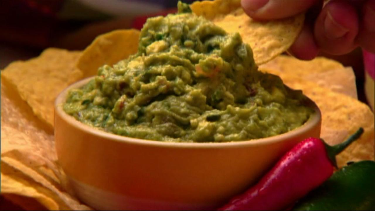 Guacamole is seen in this undated image.