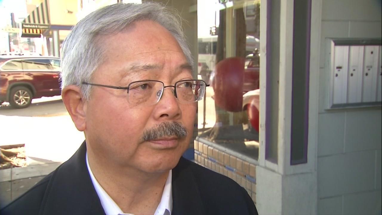 San Francisco mayor Ed Lee speaks on sanctuary cities on Thursday, Dec. 1, 2017.