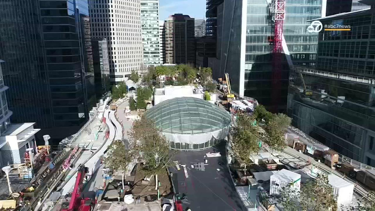 DRONEVIEW7: Go inside and above the worlds most expensive bus station