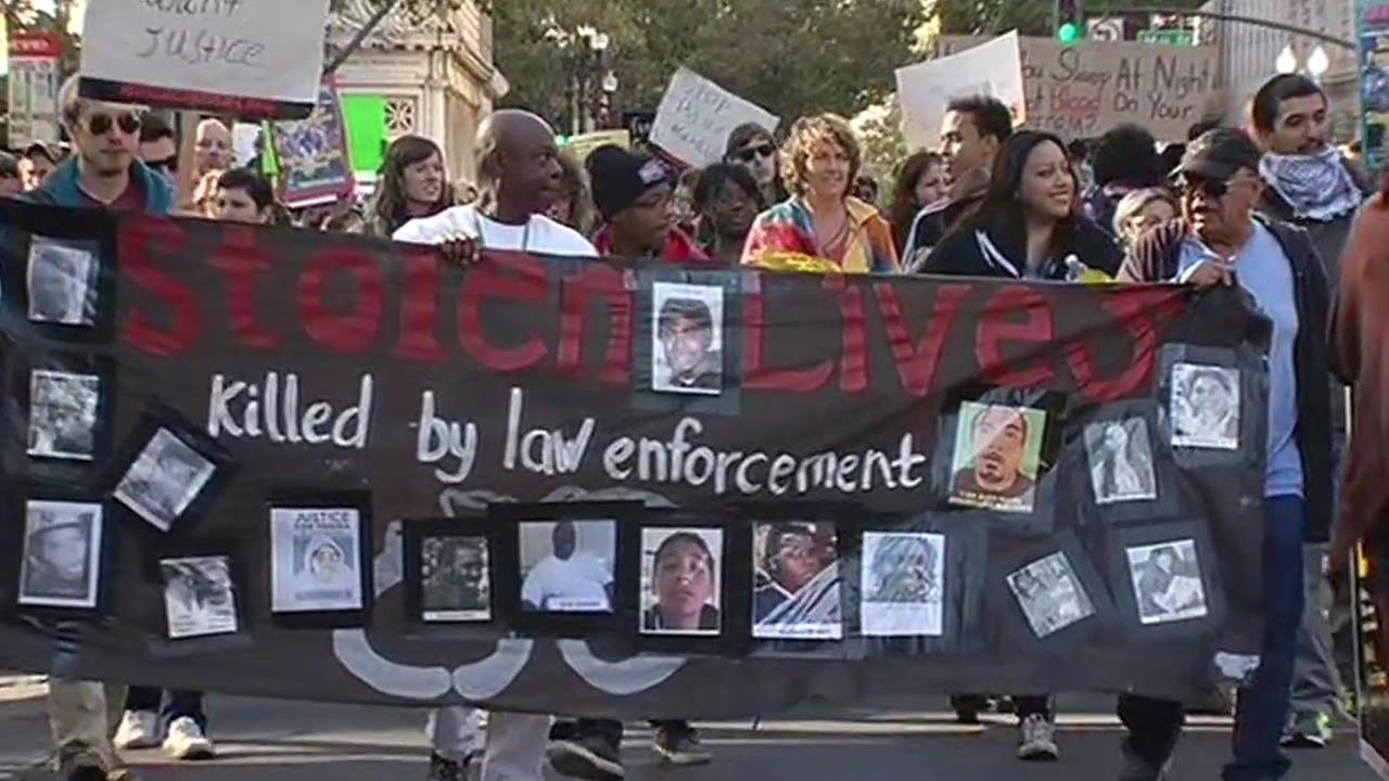 Oakland protest for Ferguson, Mo.