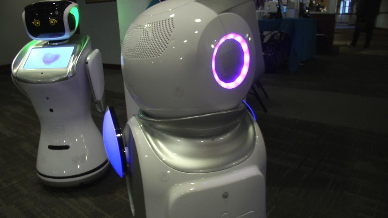 A robot is seen in this undated image.