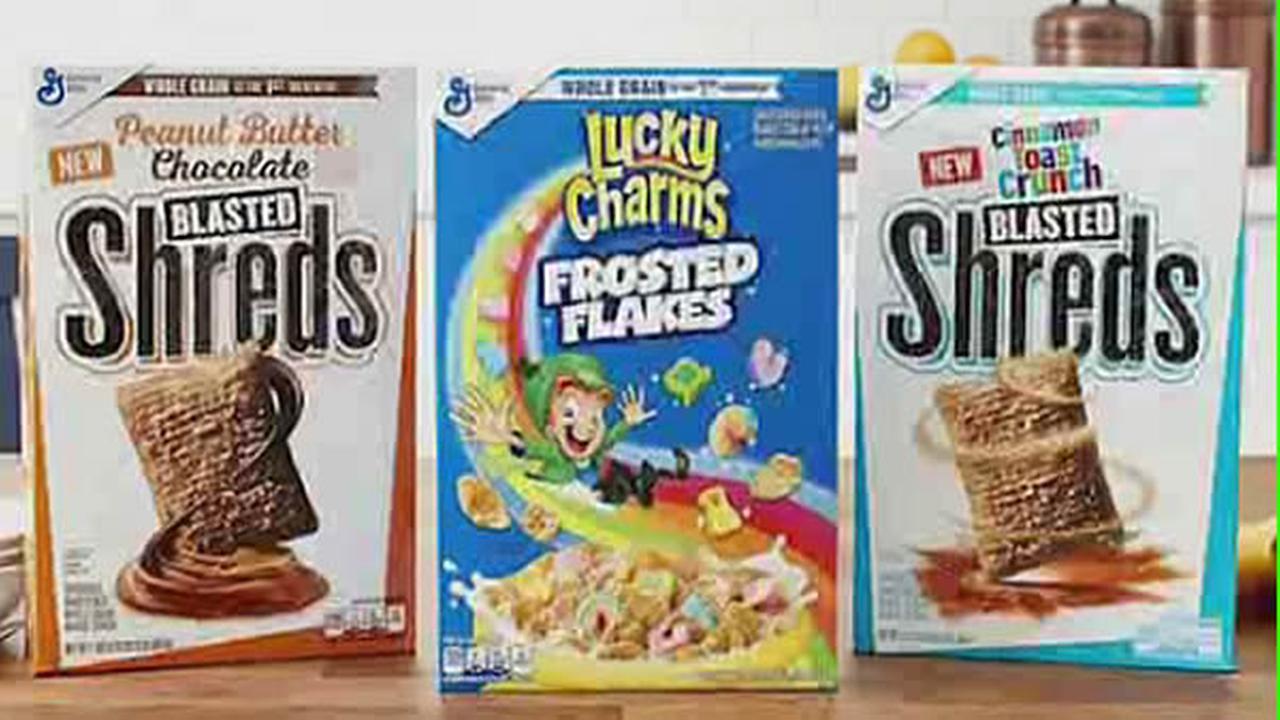 General Mills cereal mashup optipns