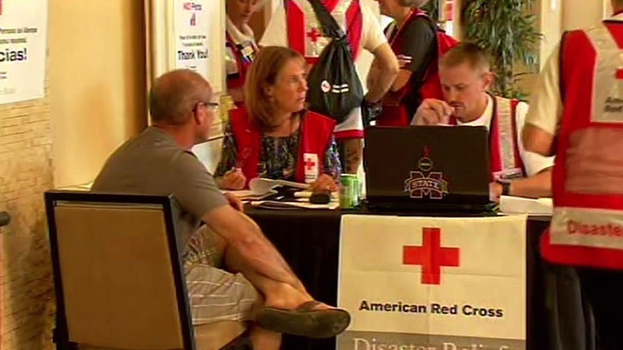 Napa American Red Cross shelter