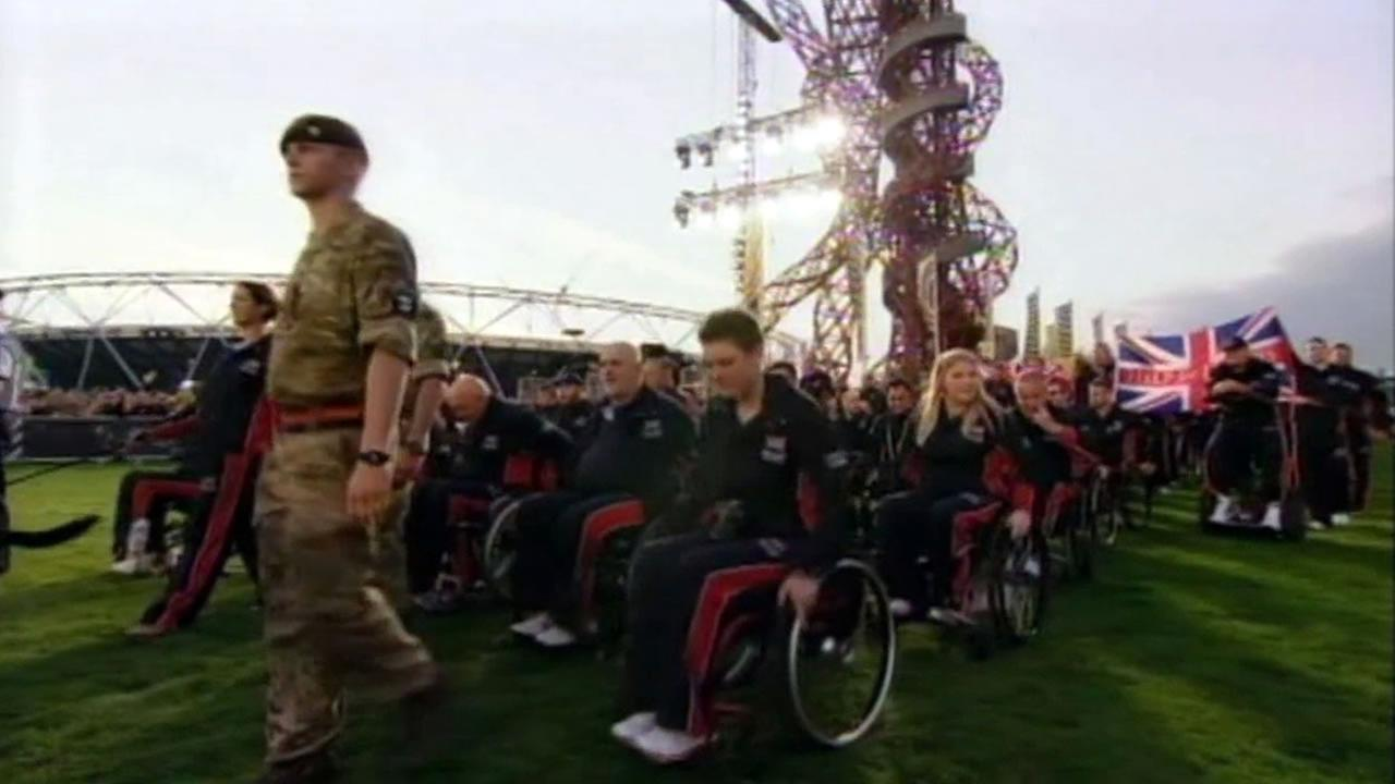 The Invictus Games for wounded servicemen and women from 13 countries are now underway in London.