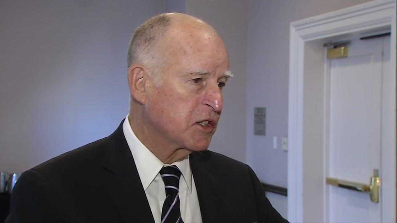 EXCLUSIVE: Governor Brown talks with ABC7 News