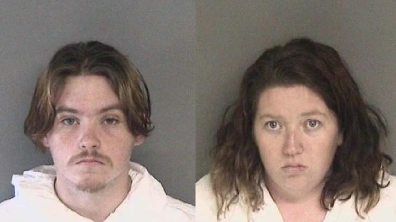 Daniel Gross and Melissa Leonardo are seen in these undated mugshots.