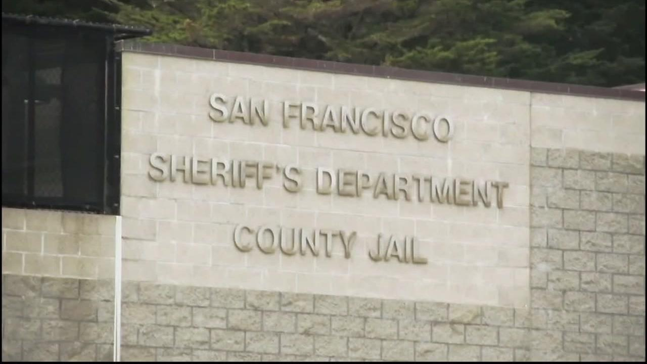 The San Francisco County Jail is seen in this undated image.