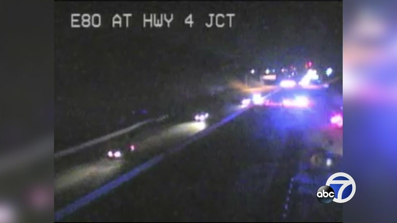 Lanes reopen after shooting on I-80 in Hercules