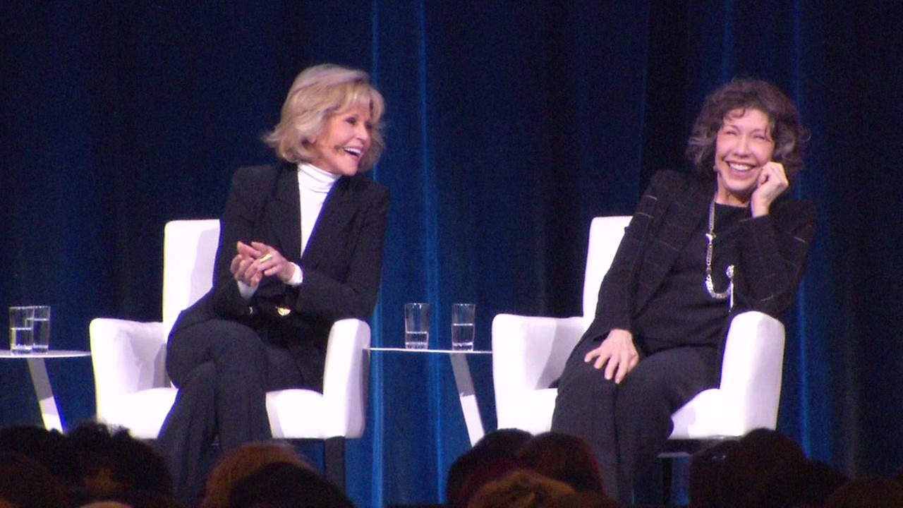 VIDEO: Jane Fonda and Lily Tomlin at PBWC