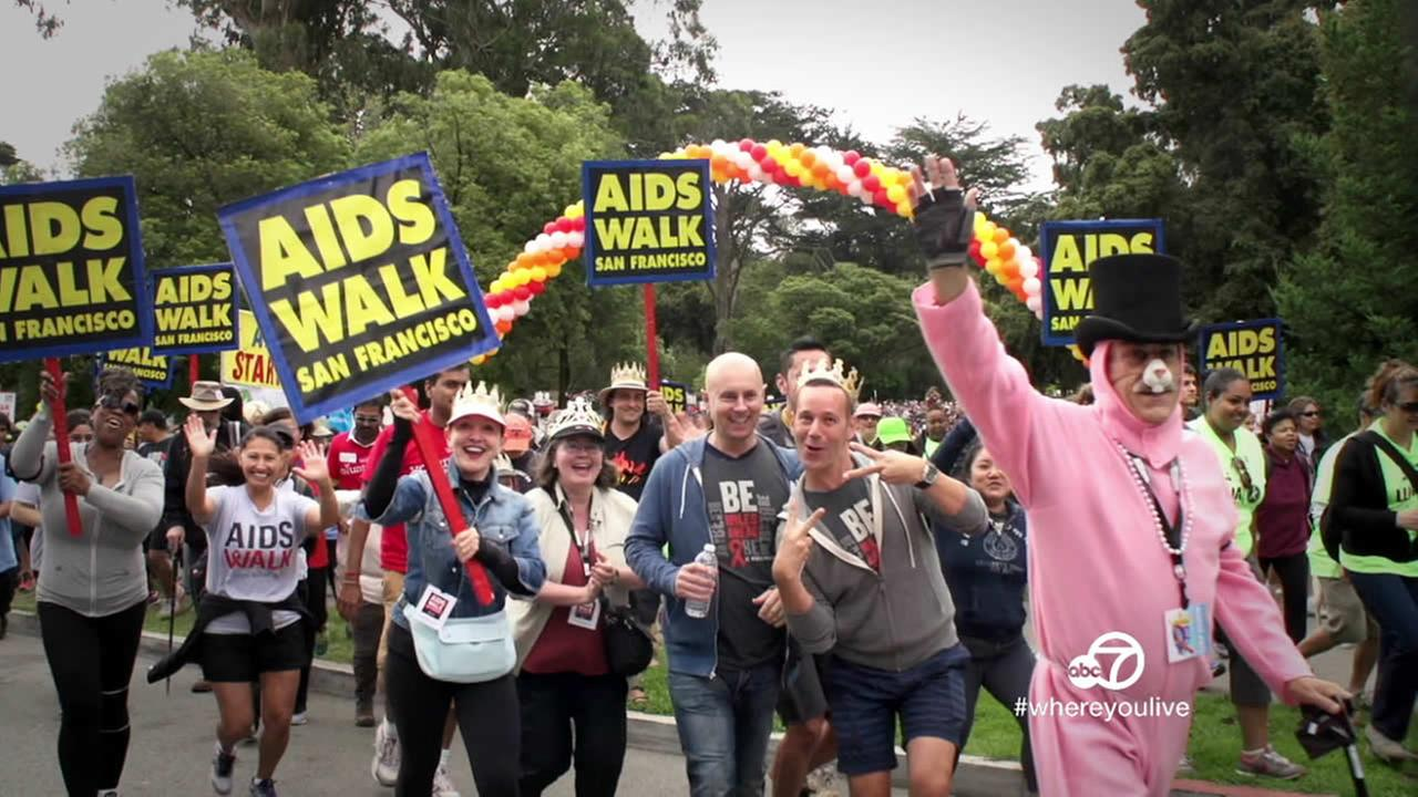 aids walk sf ABC7, KGO-TV