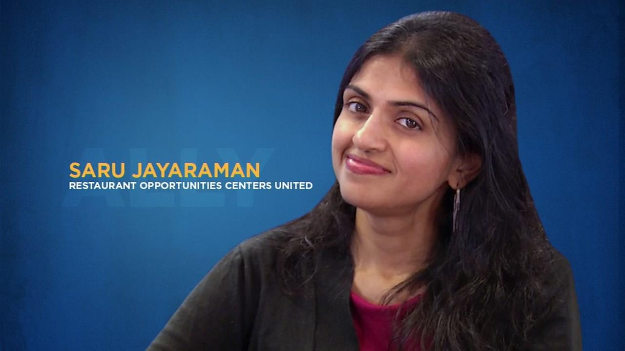 Saru Jayaraman weighs in on sexual harassment in restaurant industry, tipping