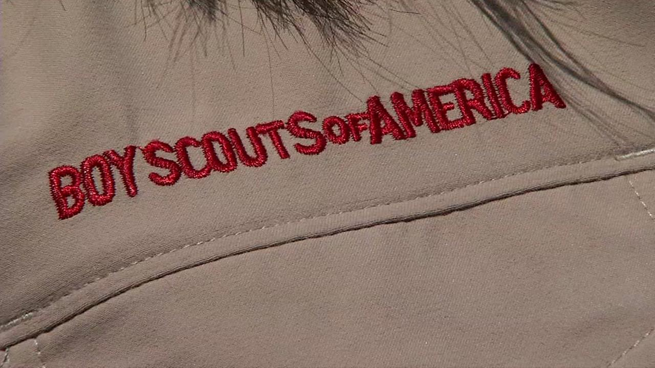 A Boy Scouts of America outfit is seen in this undated image.