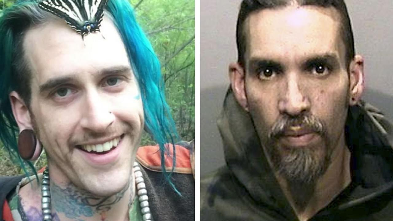 Ghost Ship warehouse fire suspects Derick Almena and Max Harris are seen in this undated image. (AP photo)