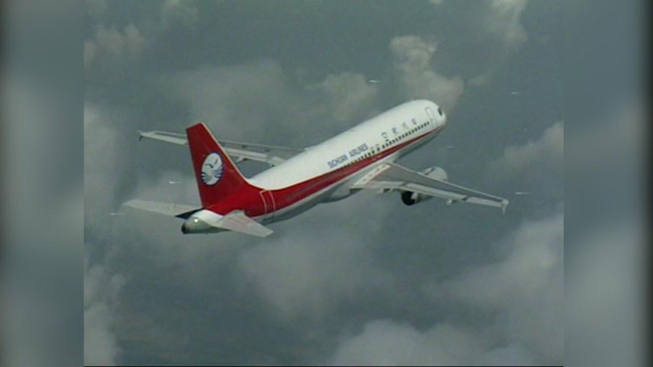 A Sichuan Airlines plane appears in this undated image.