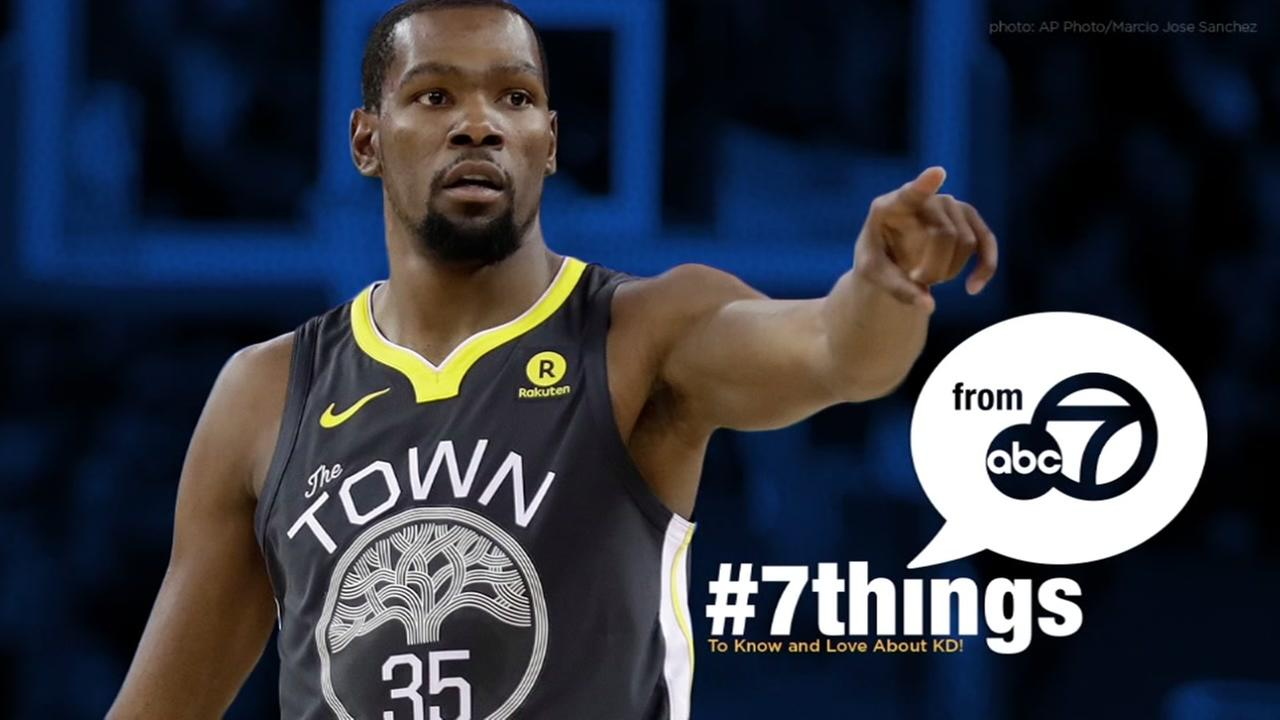 7 THINGS: What we know and love about Kevin Durant