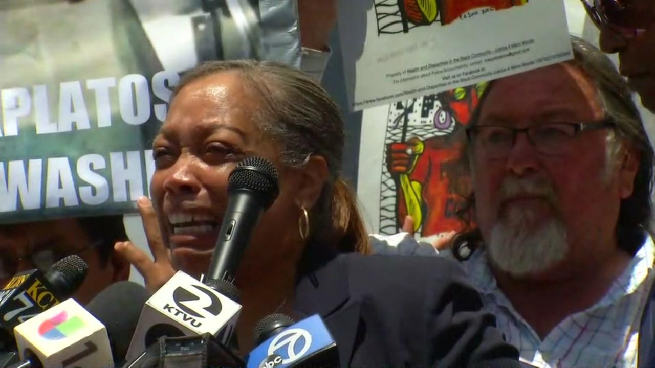 Mario Woods' mother speaks out after charges dismissed in police shooting