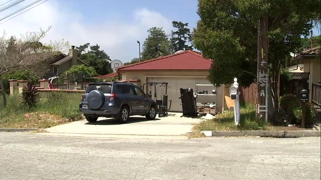 Several suspects entered the garage of this home on Monte Vista Drive in Aptos, Calif. and assaulted three teen boys with a hammer, according to police.