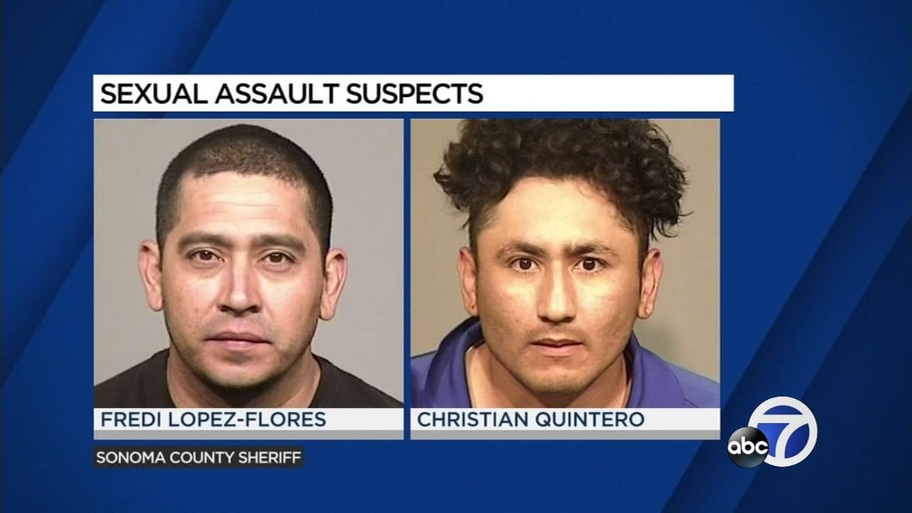 Fredi Lopez-Flores and Christian Quintero are seen in these undated mugshot images.
