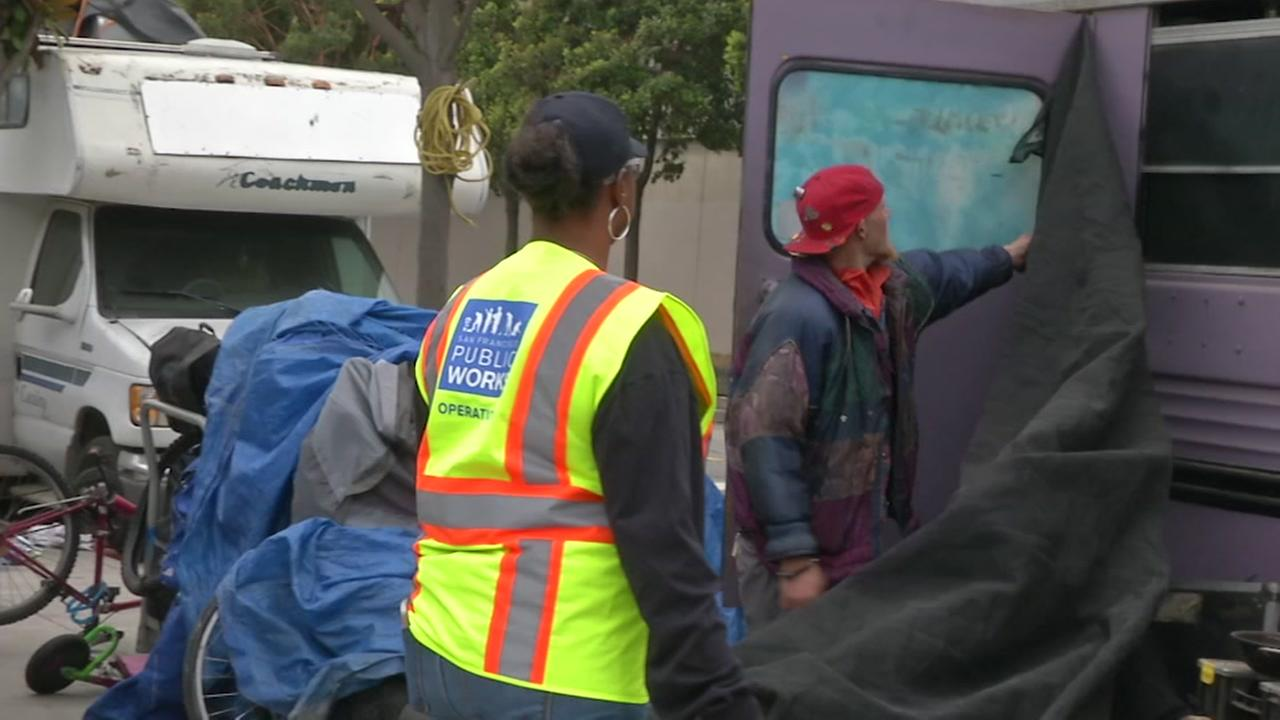 Street cleaners shed new light on SF homeless problem