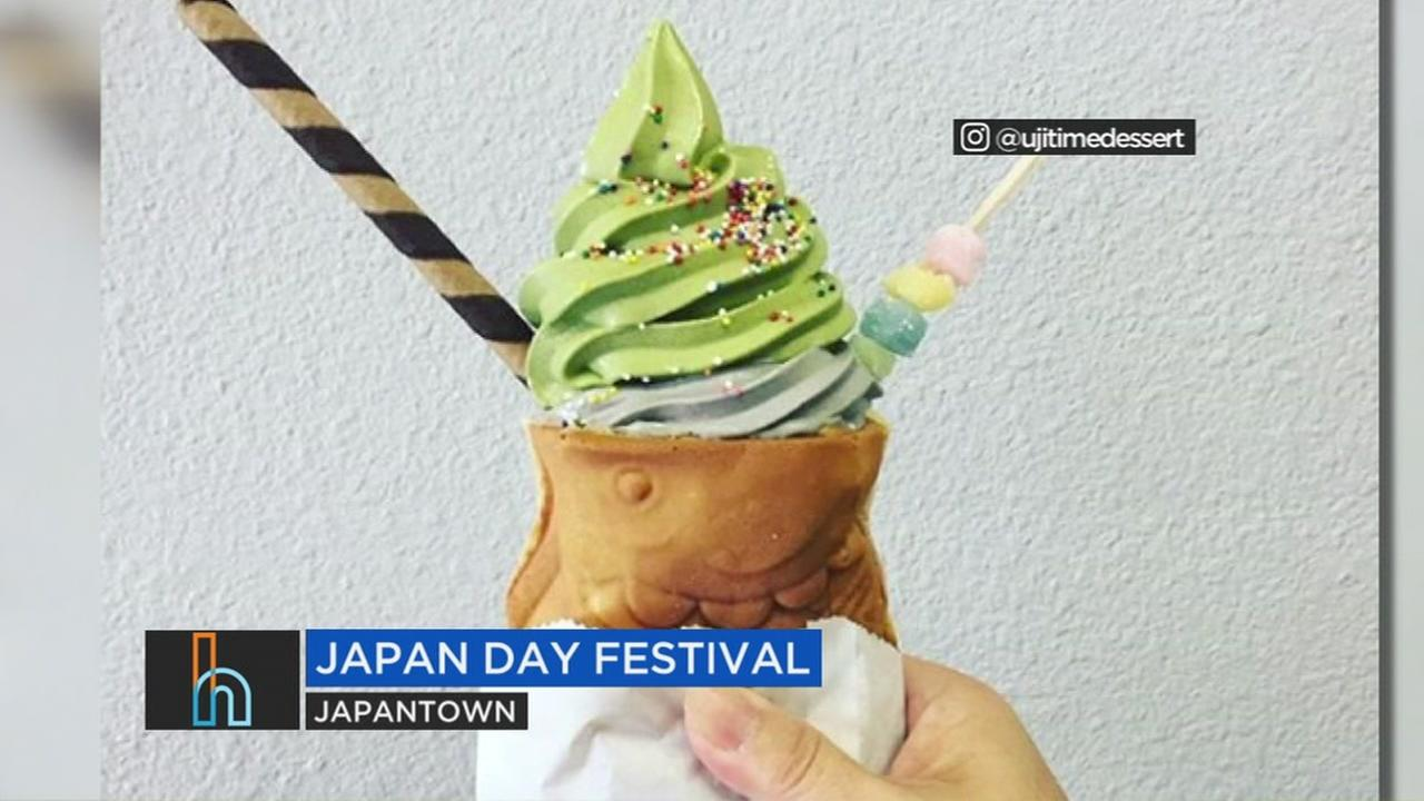 Heres a tasty treat you can try this weekend during the Japan Day Festival.