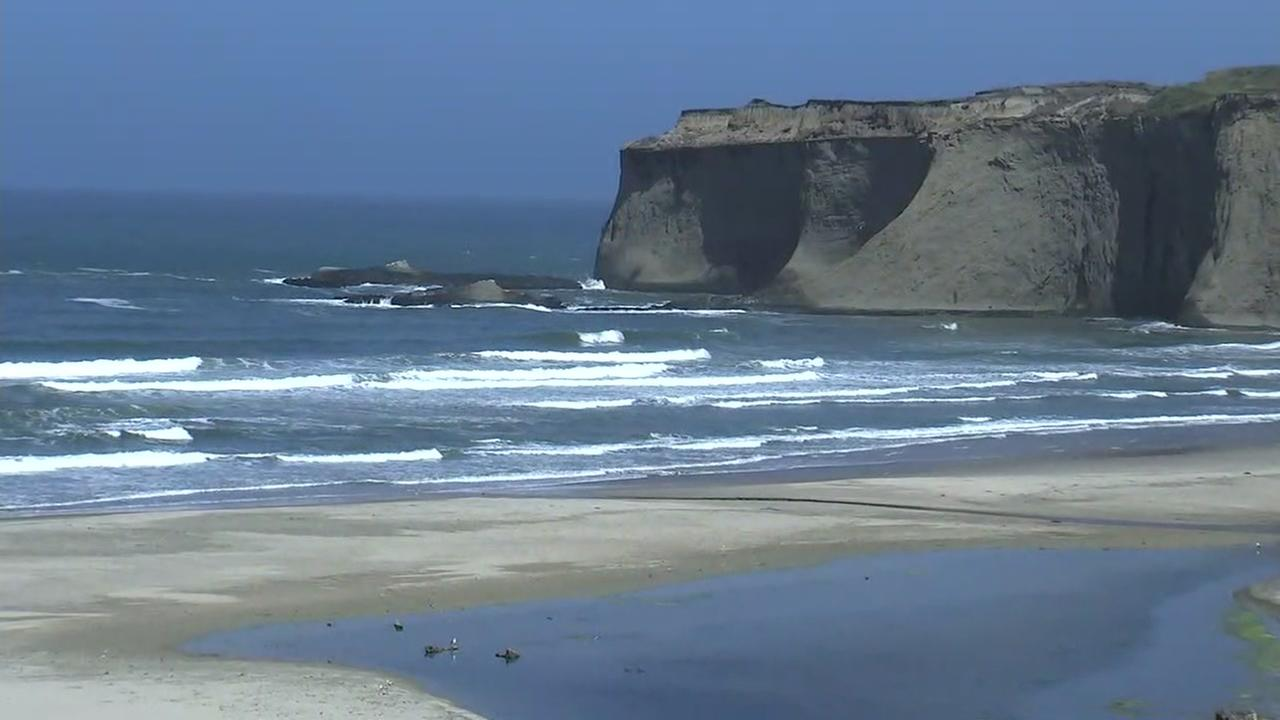 San Mateo Countys Tunitas Creek Beach near Half Moon Bay, Calif., on June 28, 2018.