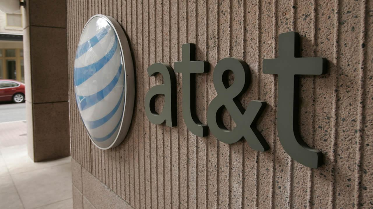 AT&T Communications corporate offices at 175 East Houston St. in San Antonio, Sunday, March 5, 2006. (AP Photo/Toby Jorrin)