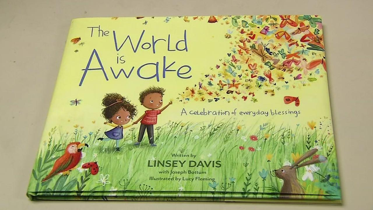 Linsey Davis book The World is Awake appears in the ABC7 Newsroom on Friday, June 6, 2018.