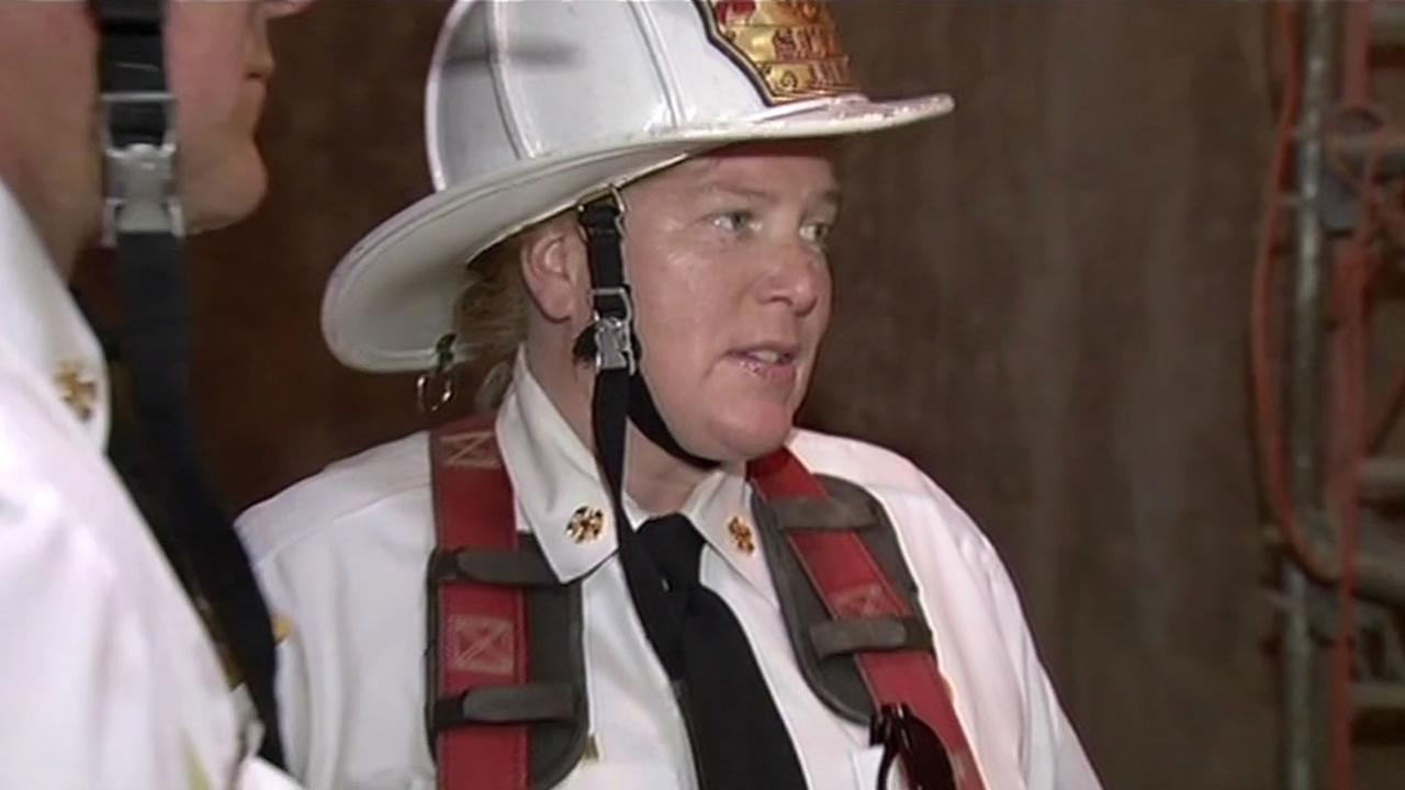 San Francisco Fire Chief Joann Hayes-White holding a series of town hall meetings as she fights to keep her job.