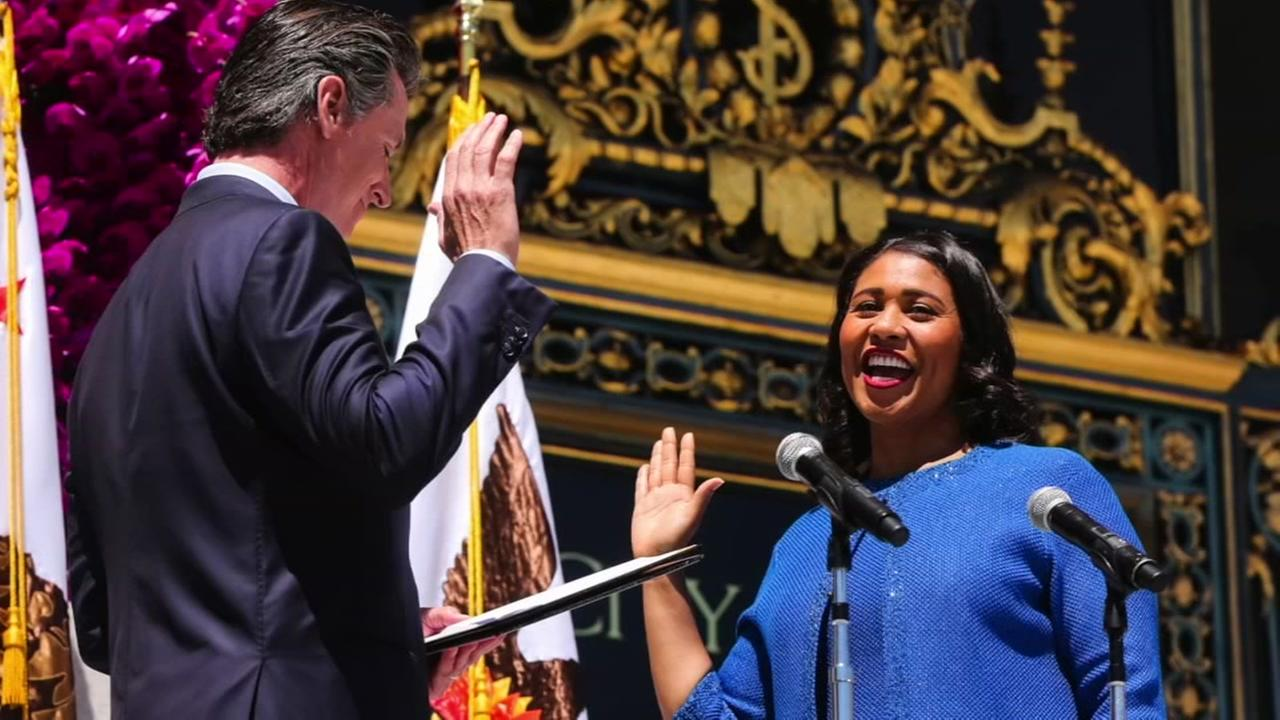 PHOTOS: London Breed sworn in as San Francisco mayor