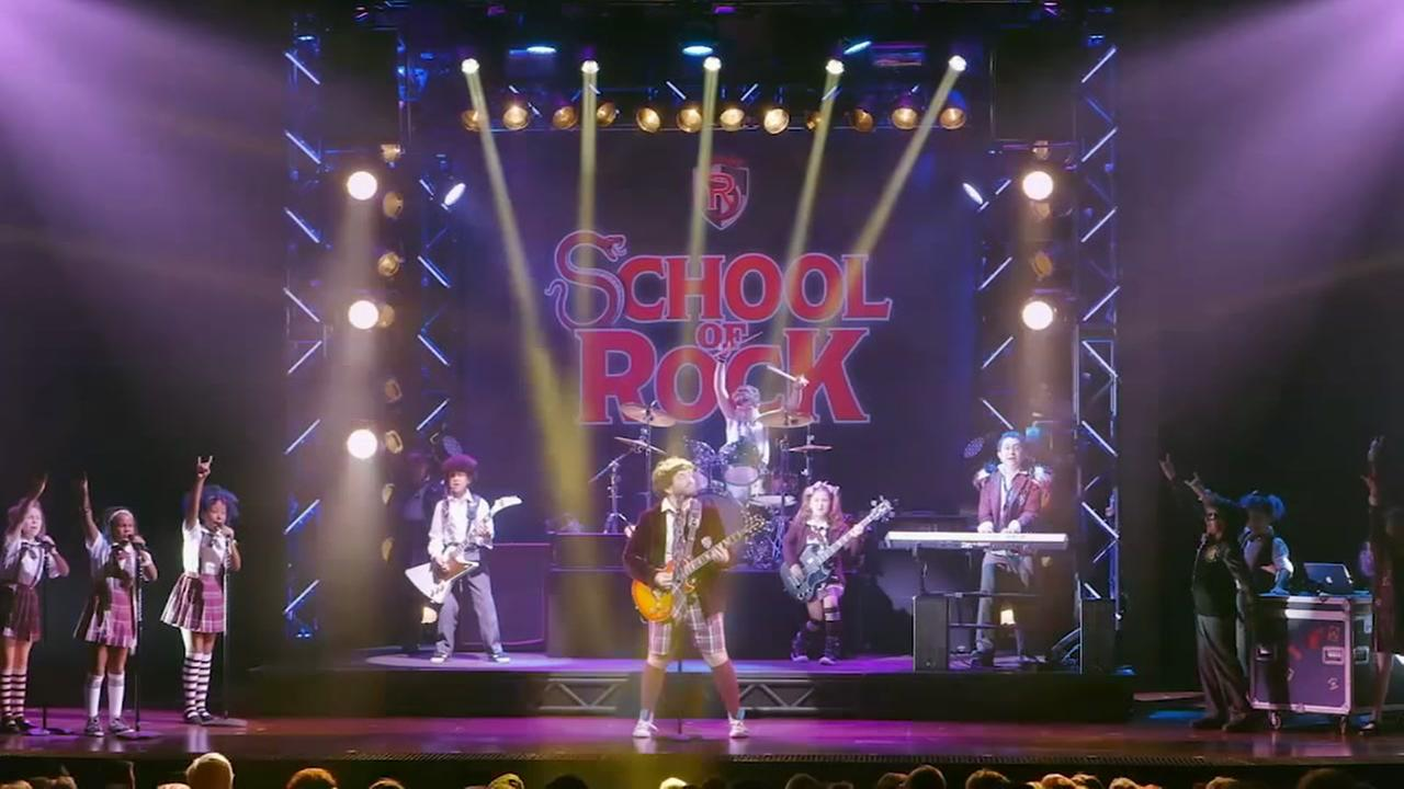SCHOOL OF ROCK now playing at SHN Orpheum Theatre