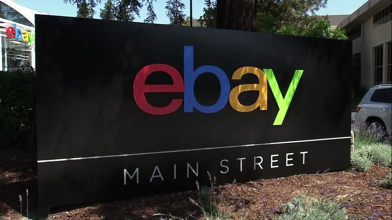 The eBay headquarters are seen in this undated image.