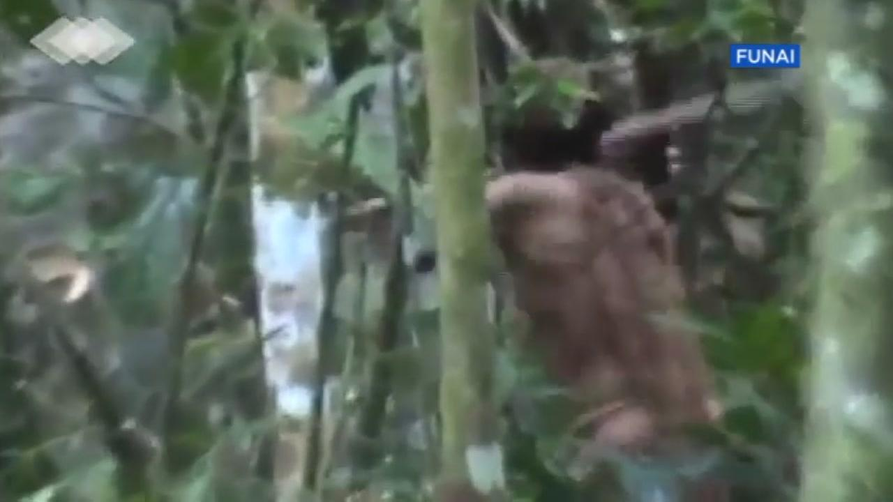 The Brazilian government just released rare footage of the lone survivor of an isolated tribe in the Amazon rain forest.