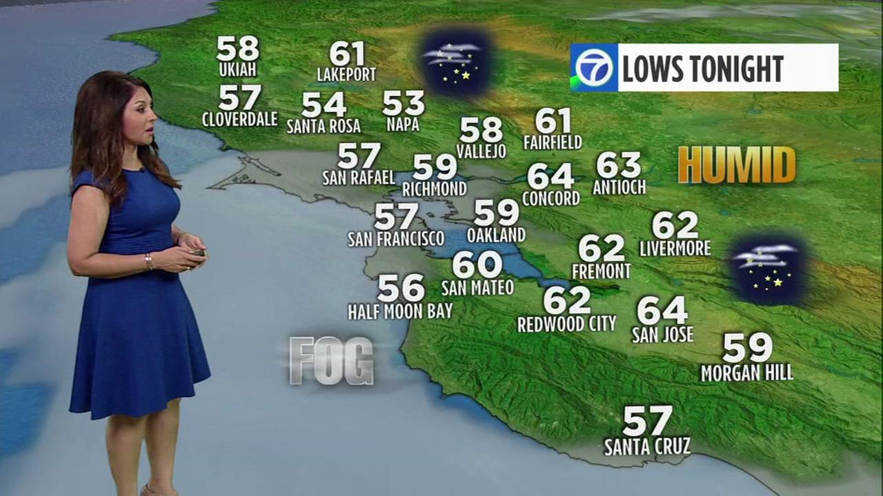 AccuWeather Forecast: Monsoon moisture brings high clouds, humidity