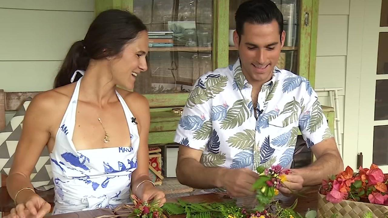 Aloha Friday:  Learning the Ancient Art of Lei Making
